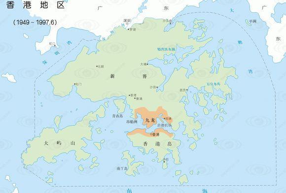 香港面积多大人口多少?香港面积相当于哪个市 子晨SEO博客